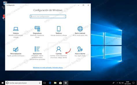 Crear una cuenta de usuario local en Windows 10   SomeBooks.es