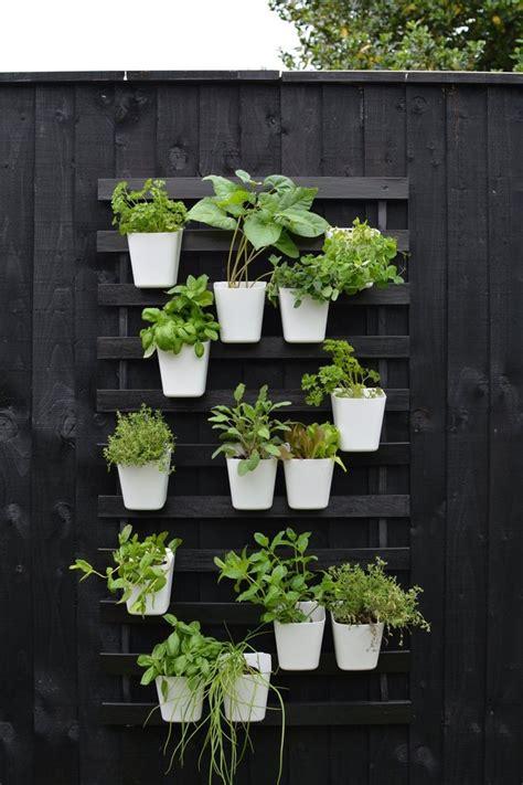 Create a Modern Vertical Garden Using IKEA Bed Slats | Hunker