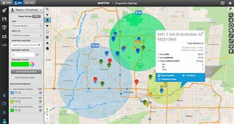 Create a Radius Map   Google Map Radius   Driving Radius Map