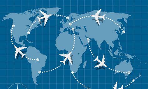 Create Air Travel Route Maps in ggplot: A Visual Travel Diary