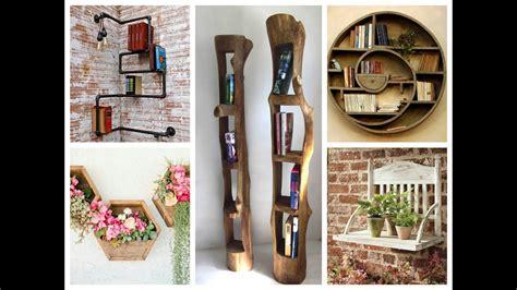 Creative Wall Shelves Ideas – DIY Home Decor   YouTube