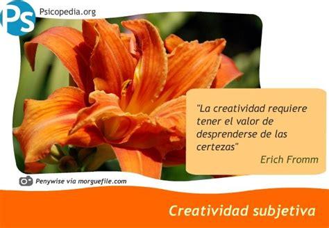 Creatividad subjetiva   Psicopedia   Creatividad ...