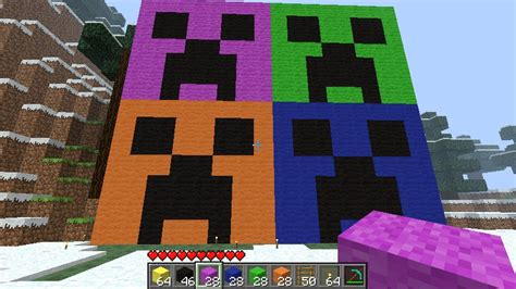creeper popart Minecraft Project
