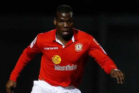 Crewe s Mathias Pogba out of action after knee injury ...