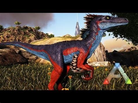 Criaturas do ARK   AUSTRORAPTOR   YouTube