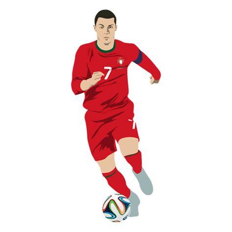 Cristiano Ronaldo de dibujos animados   Descargar PNG/SVG ...