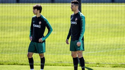 Cristiano Ronaldo is the present, Joao Felix is the future ...