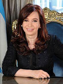 Cristina Elisabet Fernández de Kirchner, Presidente de ...