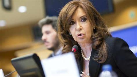 Cristina Fernández anuncia su candidatura a la ...