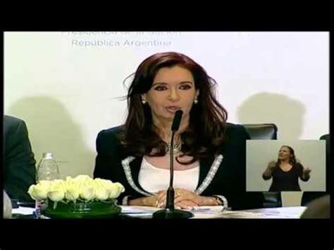 Cristina Fernández de Kirchner alude a la periodista María ...