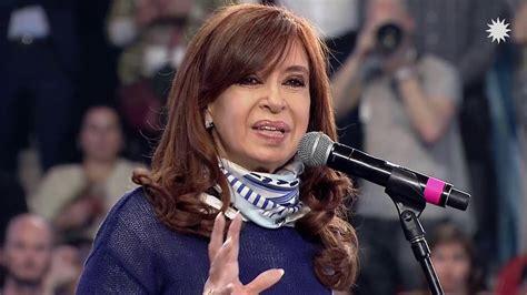 Cristina Fernández de Kirchner en el Club Atenas de La ...