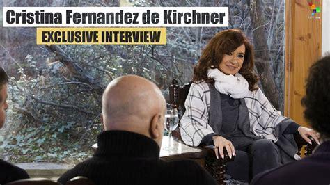 Cristina Fernandez de Kirchner: Exclusive Interview   YouTube