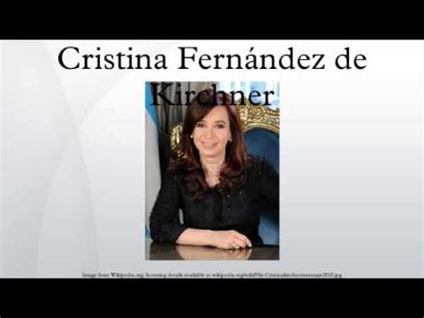 Cristina Fernández de Kirchner   YouTube