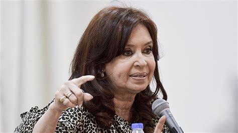 Cristina Fernández le respondió al FMI:  Los argentinos ...