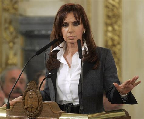 Cristina Fernandez wants you to have an erection ...