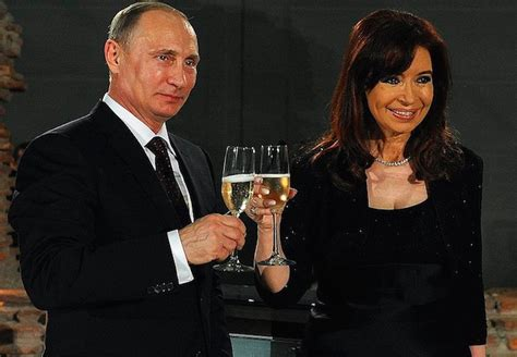 Cristina Fernandez will visit her close new friend Putin ...