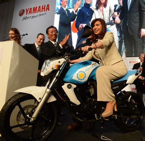 Cristina Kirchner en Yamaha | Cristina Fernandez de Kirchner