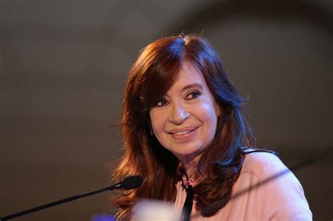 Cristina Kirchner evitó hablar de la fórmula Macri ...