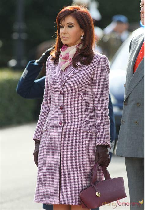 Cristina Kirchner, ex primera dama argentina y actual ...