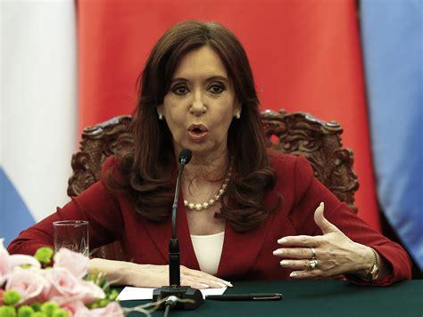 Cristina Kirchner, Former Argentine President, Charged ...
