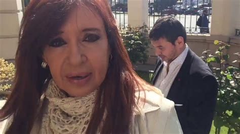 Cristina Kirchner, hoy en Río Gallegos   YouTube