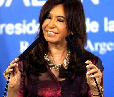 Cristina Kirchner  Hoy nadie desaparece de ningun lado ...