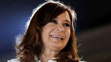 Cristina Kirchner se postula a vicepresidenta para ...