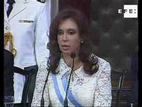 Cristina Kirchner toma posesión de la Presidencia de ...