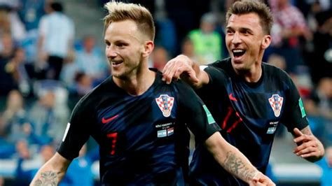 Croacia clasificó a cuartos tras vencer a Dinamarca en ...