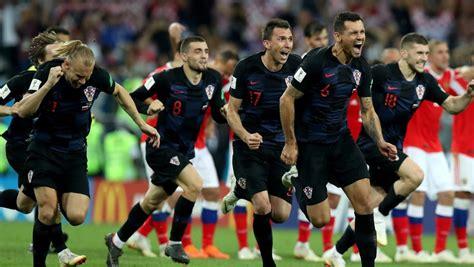 Croacia, la primera en ganar dos tandas de penaltis en Rusia