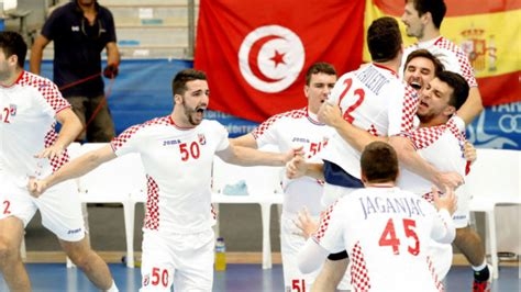 Croacia se lleva el oro ante Túnez en la última jugada ...