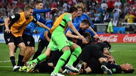 Croacia sobrevivió a la ruleta rusa y está en semifinales ...