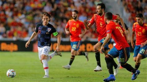 Croacia vs España en VIVO liga de Naciones Grupo A Este ...