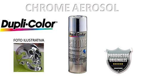 Cromo En Aerosol Pintura Duplicolor Cromo Acabado Espejo ...