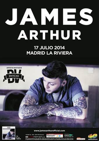 CRONICA  James Arthur + Dvicio – La Riviera – Madrid – 17 ...