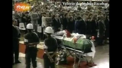 CRÓNICAS DE ARCHIVO 2014 | Asesinato de Andrés Escobar ...
