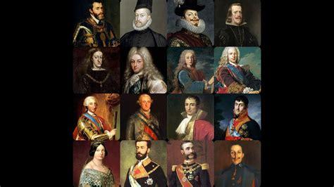 Cronología reyes de España.   YouTube