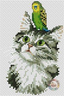 cross stitch patterns free download as pdf file with cat ...