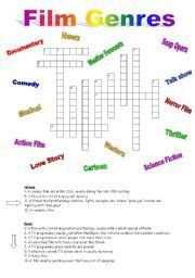 Crossword, Movies and Worksheets on Pinterest