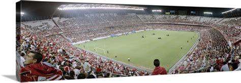Crowd in a stadium, Sevilla FC, Estadio Ramon Sanchez ...