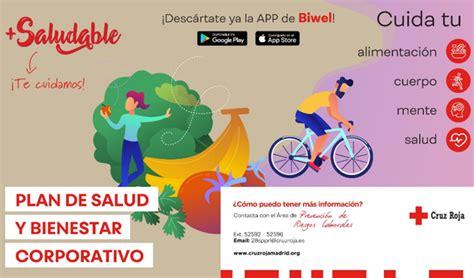 Cruz Roja Madrid inicia el programa +Saludable a través de ...
