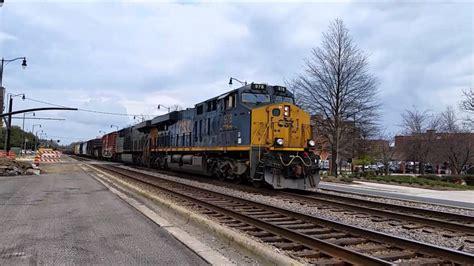 [CSX]978 ES44AH & ES44AH Leads L409 11 With Long Train ...