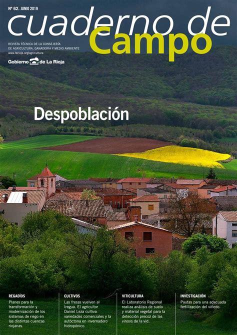 Cuaderno de campo nº 62 by Consejería de Agricultura. La ...