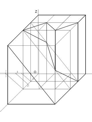 Cuaderno de Dibujo Técnico: Ejercicio 128: Perspectiva ...