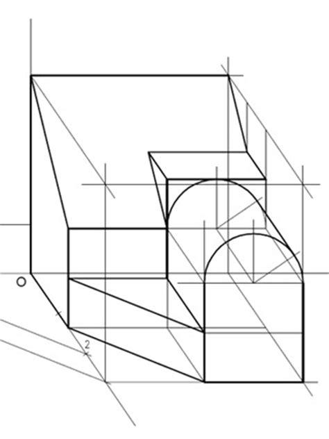 Cuaderno de Dibujo Técnico: Ejercicio 81: Perspectiva ...