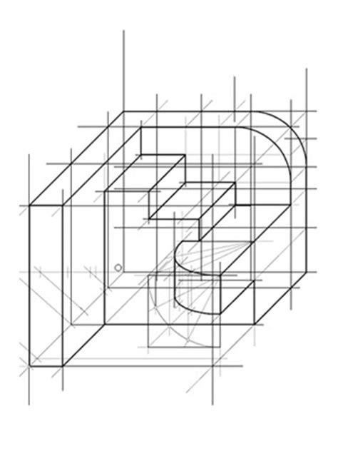 Cuaderno de Dibujo Técnico: Ejercico 98: Perspectiva caballera