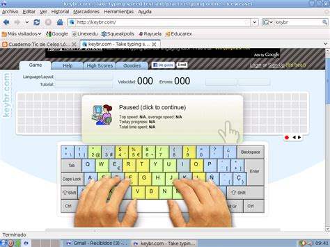 Cuaderno de tic de Adrián Sánchez: Programa on line de ...