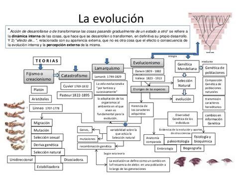 cuadro comparativo de la teoria evolucionista y ...