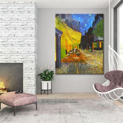 Cuadro Terraza de café por la noche Van Gogh|Cuadros Splash