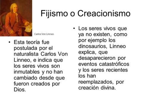 Cuadros comparativos de las teorias del origen de la vida ...